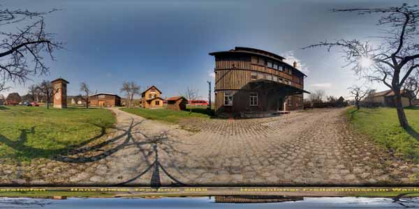 Hohenloher Freilandmuseum Wackershofen, Baugruppe Eingang und Technik