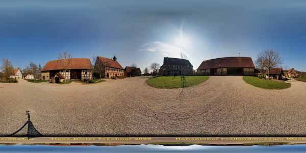 Hohenloher Freilandmuseum Wackershofen, Baugruppe Hohenloher Dorf