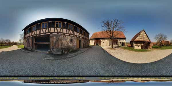 Hohenloher Freilandmuseum Wackershofen, Baugruppe Hohenloher Dorf Steigenhaus