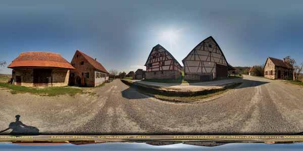 Hohenloher Freilandmuseum Wackershofen, Baugruppe Weinlandschaft