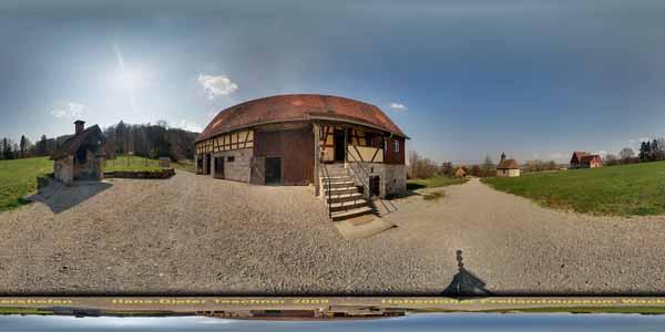 Hohenloher Freilandmuseum Wackershofen, Baugruppe Waldberge