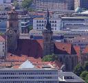 BLick von Wagnerhöhe über Stuttgart